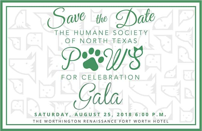 Save the date HSNT Paws For Celebration